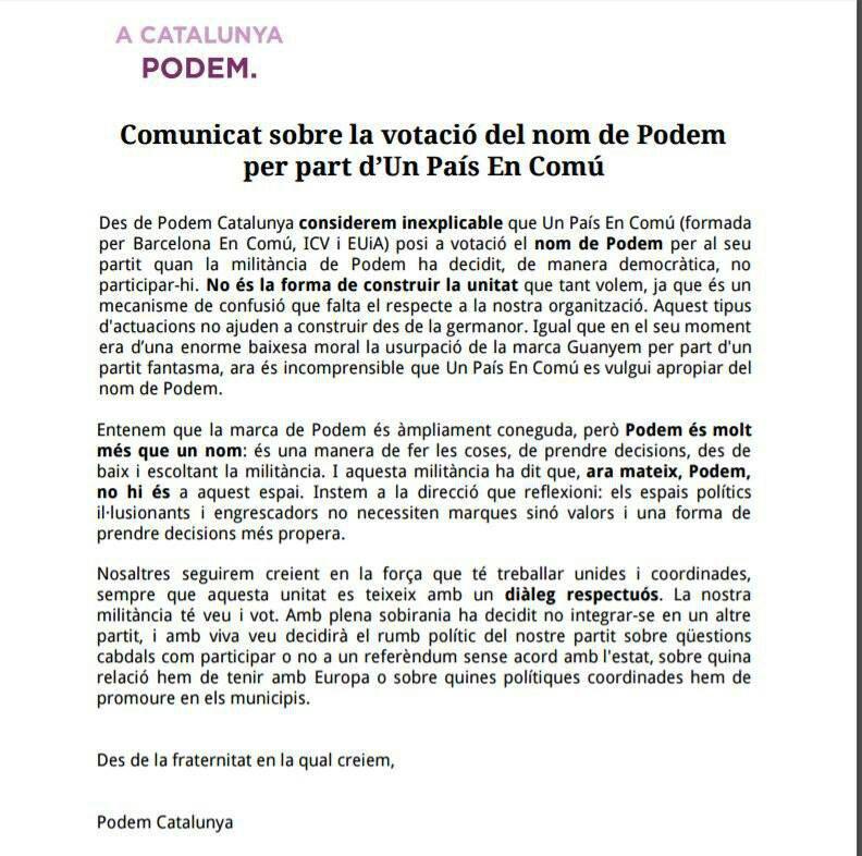 Comunicat Podem_Cat 001